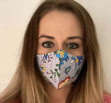 FACE MASK , breathable WASHABLE, Reusable, 100% cotton , Free Post