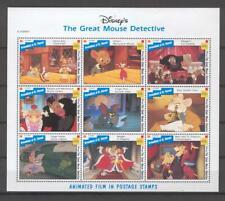 Disney St Vincent 1992 The Great Mouse Detective Sheetlet MNH