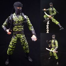 GI Joe Classified Ninja Force Nunchuk Custom Action Figure