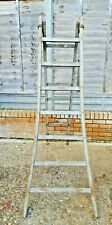 Large Original French Wooden Orchard Fruit Picking Ladders Wedding Shop Display