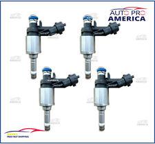 (4) NEW Buick Regal Chevy Cobalt Saturn Sky 2.0L L4 GDI Fuel Injectors 12636111