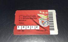 Sammler Used Ticket UEFA Youth League Benfica Lissabon FC Bayern München 19.9.18