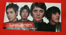"LADYTRON Light & Magic USA Emporer records RARE 2002 Promo Poster 12"" x 24"""