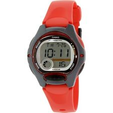 Casio LW200-4A Ladies RED Digital Sports Watch 50M Dual Time Daily Alarm Small