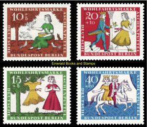 EBS Berlin 1965 Grimms Fairy Tales (II) Cinderella Michel 266-269 MNH**