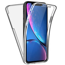 SDTEK Case for iPhone XR Full Body 360 Gel Cover Front and Back