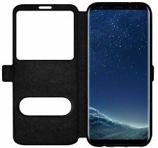 Flip Cover View Case Handy Tasche Schutz Hülle Fenster mit Magnetverschluß Neu