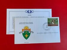 NIGER 1984 FDC FRANKLIN OLYMPIC GAMES LOS ANGELES 100 METRES SPRINT ATHLETICS