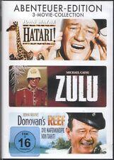 DVDs DIE HAFENKNEIPE VON TAHITI + HATARI! + ZULU # John Wayne ++NEU