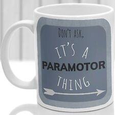 Paramotor thing mug, Ideal for any Paramotor lover (Blue)