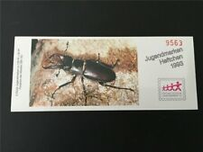 GERMANY BOOKLET 1993 MNH INSECTS BEETLE KÄFER SCARABÉE RARE!! m2440
