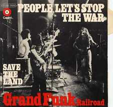 "GRAND FUNK RAILROAD ""PEOPLE, LET'S STOP THE WAR"" ORIG FR 1971"