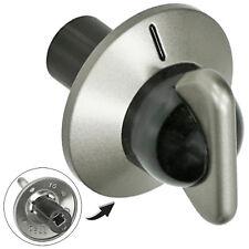 DELONGHI DFS090 DFG901 DFG903 DFS903 Oven Hob Control Switch Knob Silver Black