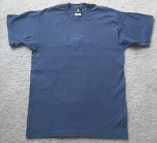 Star Trek TNG The Next Generation T Shirt Official VTG Sz Large Blue Embroidered