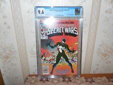 SECRET WARS 8 (CGC 9.6 NEWSSTAND) BRAND NEW CASE origins of the symbiote