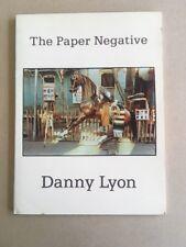 DANNY LYON / THE PAPER NEGATIVE - 1980 1st