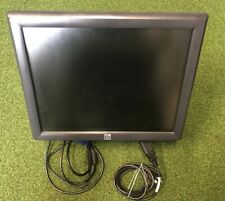 """ELO ET1715L-8CWA-1-G 17"""" Touchscreen LCD Monitor & Power Cable & Stand"""