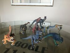 Lot Of 7 Schleich Dinosaurs D-73527 2014 2015