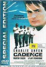 CADENCE (aka STOCKADE) Charlie Sheen  -  DVD -UK Compatible sealed