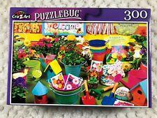 CRA Z ART Puzzlebug Gardening Time Jigsaw Puzzle 300 piece NEW 18.25 x 11