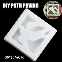 DIY Path Paving Maker Peace Dove Mold Imitation Brick Carving Pavement Tool