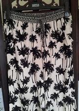 M&S Dormir Mujer Pijama inferior Mezcla Negro Tamaño 8