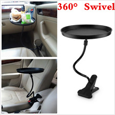 360° Swivel Auto Car Travel Table Drink Food Cup Tray Rack Holder Mount Stand
