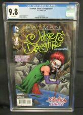 Batman:Jokers Daughter #1 (2014) New 52 DC CGC 9.8 CE107