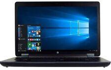 """HP ZBook 17 Workstation 2.7GHz 3.7GHz i7 4800MQ 256GB SSD 16GB 17.3"""" K3100M"""