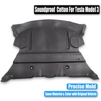 For Tesla Model 3 17-19 Rear Trunk Soundproof Cotton SoundProof Protective Pad