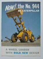 CATERPILLAR 944 Wheel Loader 1960s dealer brochure - English - USA