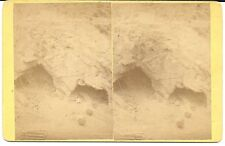 Pollock & Boyden Stereoview – Homestake Mine Entrance  Lead South Dakota c1880s