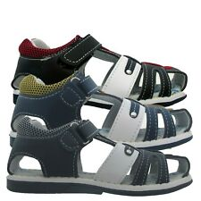 Boys Sandals Kids Touch Strap ORTHOPEDIC Beach Holiday Outdoor Sports Shoes
