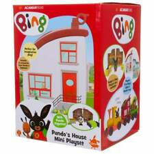 Bing - Mini House Playset - Pando's House inc Figure and Bed & Stool Accessories