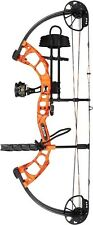 New 2016 Bear Archery Cruzer RTH 5-70# RH Orange Bow Package