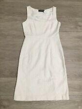Club Monaco White Floral Eyelet Lace 100% Cotton Dress Sz 0