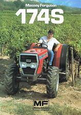 ▬►Prospectus Tracteur MASSEY FERGUSON MF 174 S  Prospect Tractor Traktor