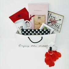 Gift Basket For Her Women Teen Girls Red Modern NEW