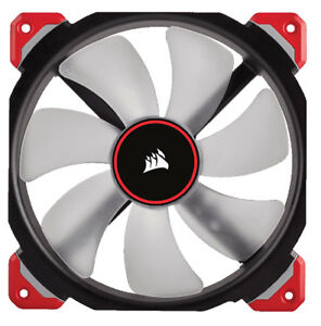 Corsair ML140 PRO 140mm Computer Case Fan with Red LED