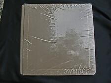 Creative Memories 12x12 SAND  TAN Scrapbook Album w/ Lavendar Baby 14/28 Pages
