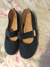 Clarks Navy Trigenic Shoes - Size 6D