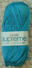 Wendy Supreme DK Luxury 1966 Dragonfly Cotton Yarn UK Postage per Order