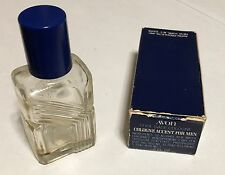Vintage Empty Men's Cologne Bottle in Box .5 oz. Cool Sage Cologne
