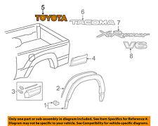 TOYOTA OEM 09-13 Tacoma Bed / Fender-Emblem Badge Nameplate 7547104040D1