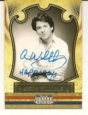 Anson Williams Signed Autographed 2011 Panini Americana Card Actor Happy Days