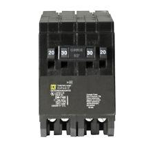 Square D Homeline CSED 30-Amp 2-Pole 120/240 Quad Tandem Circuit Breaker, NEW!