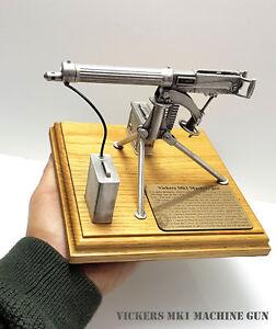 KaSul | Diorama * Vickers Mk1 Machine Gun * Guss 16 x 16 x 13 cm Fertig Modell