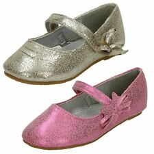 Girls Cutie Flat Shoes with 'Bow Detail'