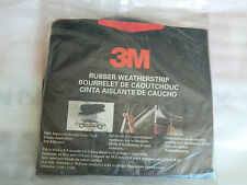 "NEW ROLL OF 3M 08650 EPDM HOLLOW RUBBER WEATHERSTRIP 7/8"" THICK x 3/4"" WIDE x 8'"