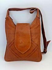 Handcrafted Moroccan Goat Leather Crossbody Shoulder Bag Boho Chic